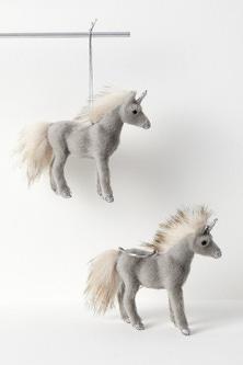 Sparkles Mini Unicorn Hanging Decorations Set of Two