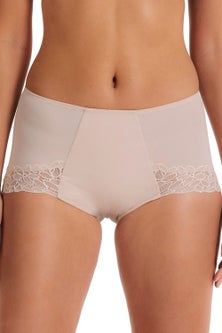 Perfects Lace & Micro Control Front Full Brief