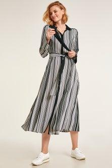 Heine Striped Shirt Dress