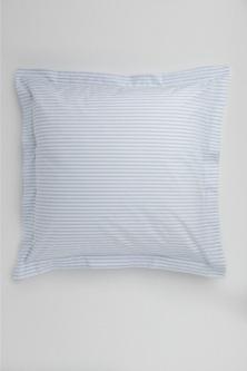 Organic Cotton Ticking Stripe European Pillowcase Pair