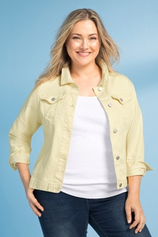 Sara Short Denim Jacket