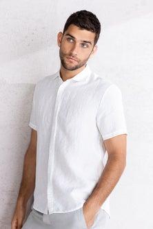 Jimmy+James Men's Linen Shirt