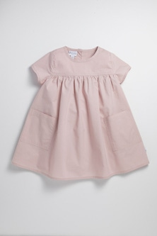 Pumpkin Patch Infants Woven Smock Dress with Pockets