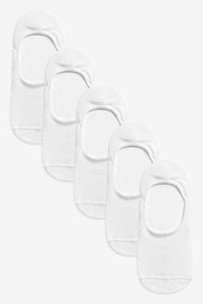 Next Metallic Invisible Socks Five Pack