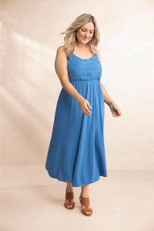 Sara Lace Insert Dress