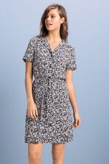 Emerge Patch Pocket Shirt Dress