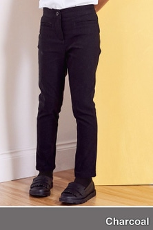 Next Skinny Stretch Trousers (3-16yrs)- Slim Fit