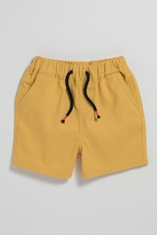 Pumpkin Patch Drill Shorts with Drawcord