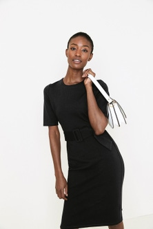 Next Ponte Bodycon Dress- Tall