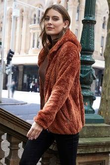 Capture Hooded Fleece Zip Up Jacket
