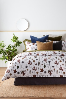 Autumn Flowers Duvet Cover Set