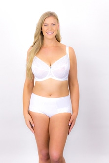 Rose & Thorne Oh Natural Lace Brief