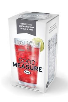 Fred Good Measure Vodka Recipe Glass