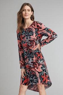 Capture Long Sleeve Shift Dress