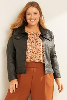 Sara Coated Jacket