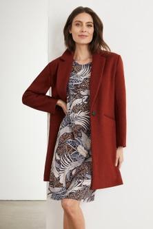 Capture Wool Blend Coat