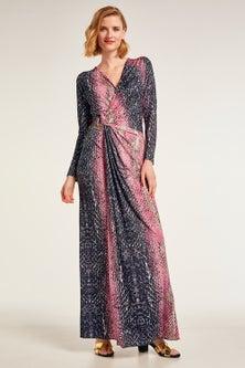 Heine Wrap Front Maxi Dress