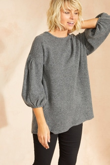 Emerge Balloon Sleeve Sweater