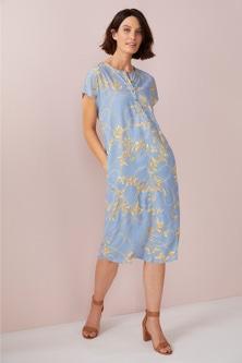 Emerge Longline Shift Dress