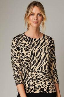 Capture Printed Sweater