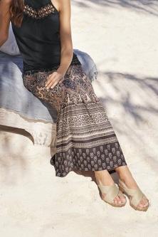 Heine Printed Maxi Skirt