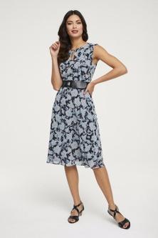 Heine Print Sleeveless Dress