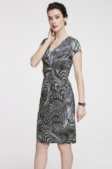 Heine Print Short Sleeve Dress