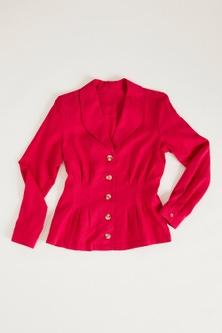 Capture Linen Blend Shirt Jacket