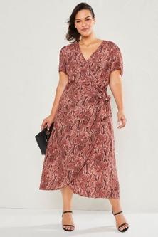 Sara Wrap Dress