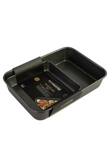 Bakemaster Bakeware Twin Pack (Roasting Pan/ Square Bake Pan)