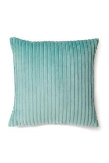 Ribbed Plush Cushion