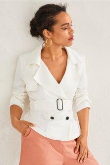 Emerge Linen Blend Jacket