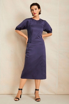 Grace Hill Shired Detail Panelled Dress