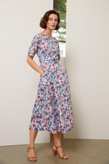 Grace Hill Belted Tea Dress