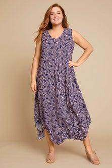 Sara Swing Drape Dress