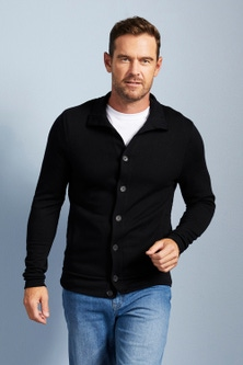 Southcape Merino Blend ButtonUp Cardigan