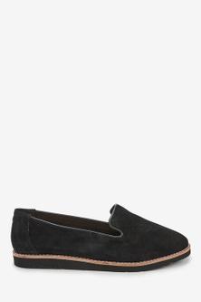 Next Leather EVA Slipper Loafers