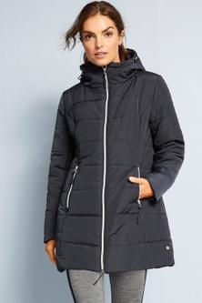 Isobar Longline  Puffer Jacket