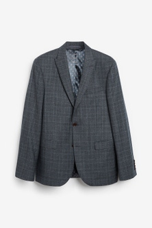 Next Marzotto Signature Check Suit: Jacket