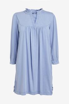 Next Blue Long Sleeve Tunic