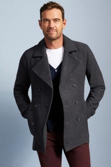 Southcape Wool Rich Pea Coat