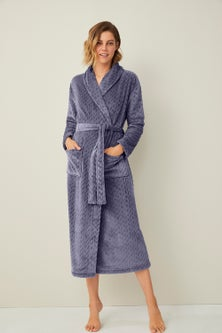 Mia Lucce Embossed Robe