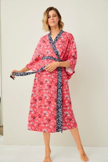 Mia Lucce Cotton Rich Kimono Robe