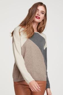 Heine Spliced Pullover