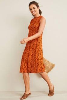 Capture Knit Swing Dress