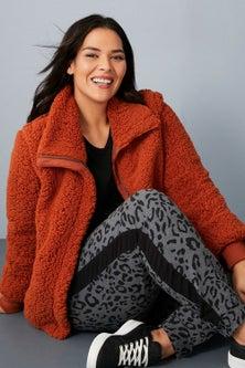 Sara Sherpa Jacket