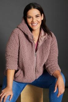 Sara Sherpa Hoody