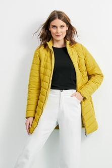 Capture Everyday Long Puffer Jacket