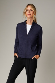 Capture Merino Full Zip Cardigan