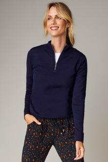 Capture Merino Half Zip Sweater